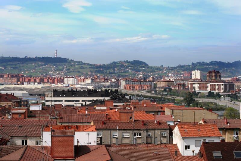 La opinión de Gijón imagenes de archivo