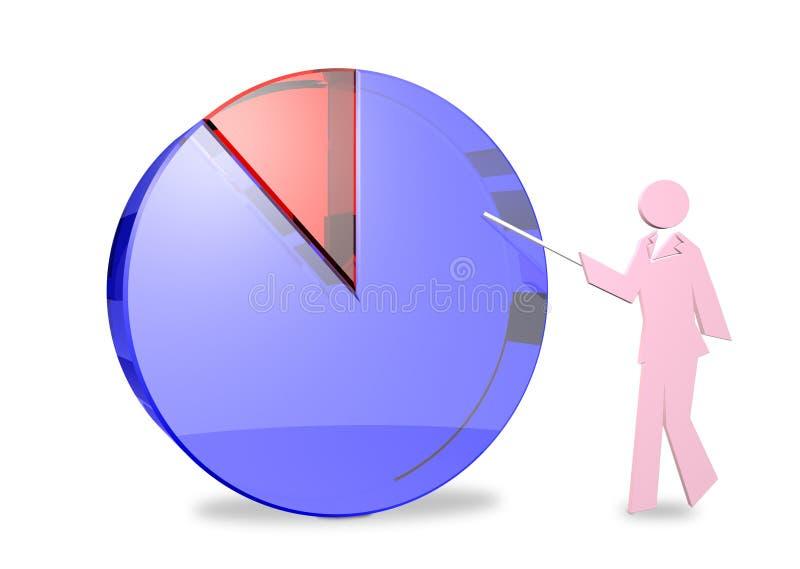 La opinión de mayoría ilustración del vector