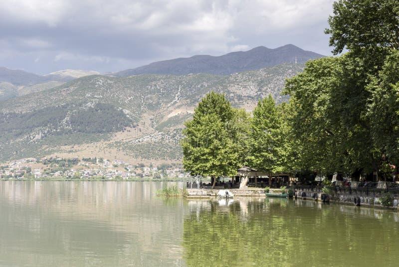 La opinión del lago fotos de archivo