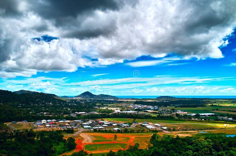 La opinión sobre Kuranda Skyrail fotografía de archivo