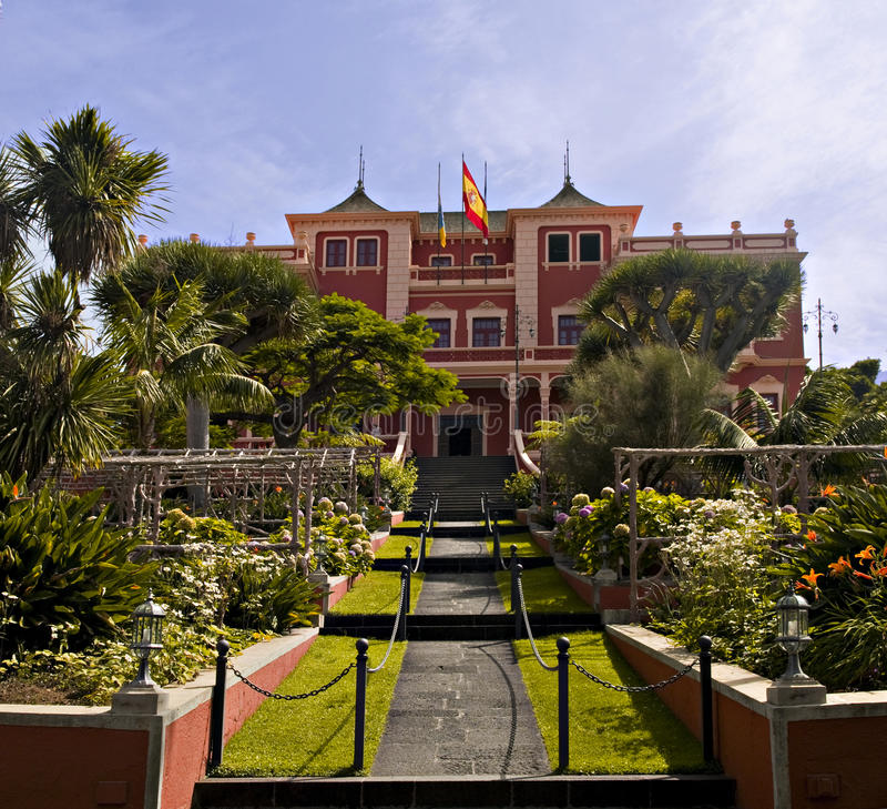 La Orotava townhall royalty free stock image
