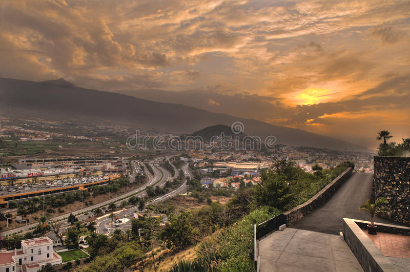 Download La Orotava valley editorial photo. Image of teide, hill - 24884646