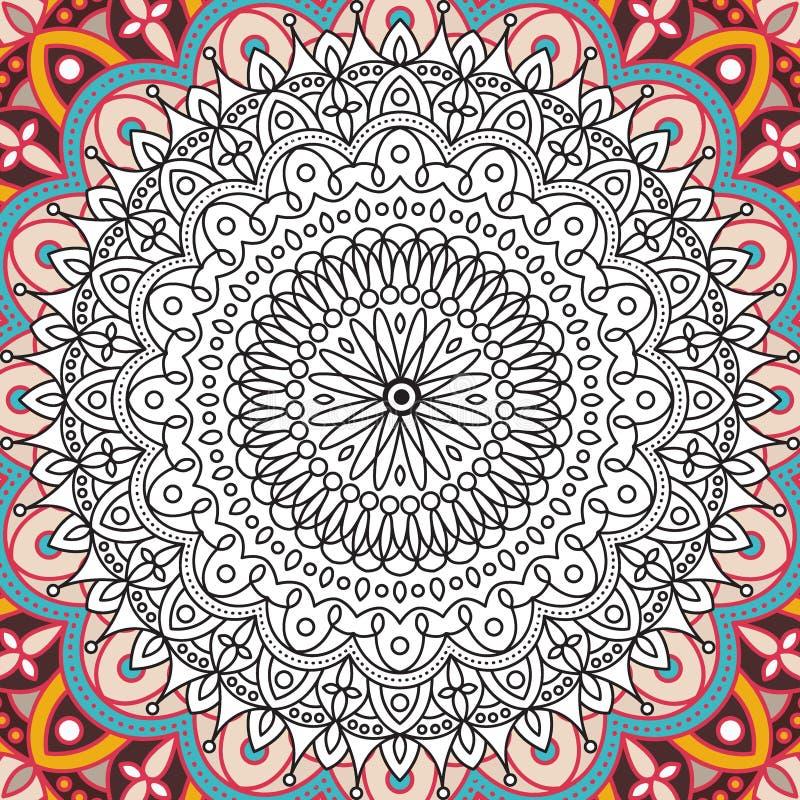 La Página Imprimible Para Los Adultos - Diseño De La Mandala ...