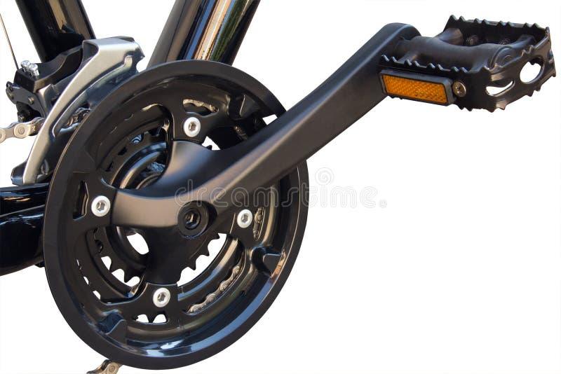 La pédale de la bicyclette photographie stock