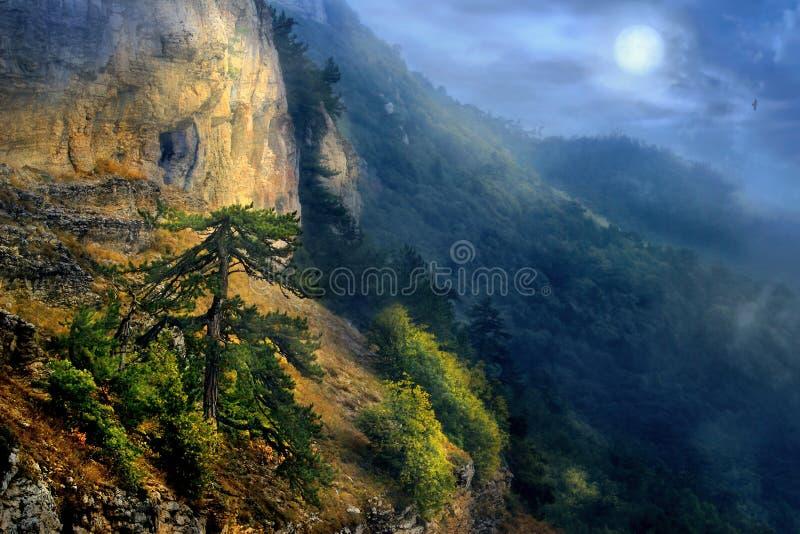 La période de la pleine lune photographie stock libre de droits