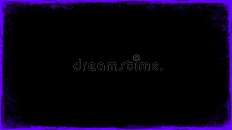 La p?rpura del vintage rasgu?? las capas de la frontera del grunge en el fondo negro aislado para el espacio de la copia Elemento foto de archivo