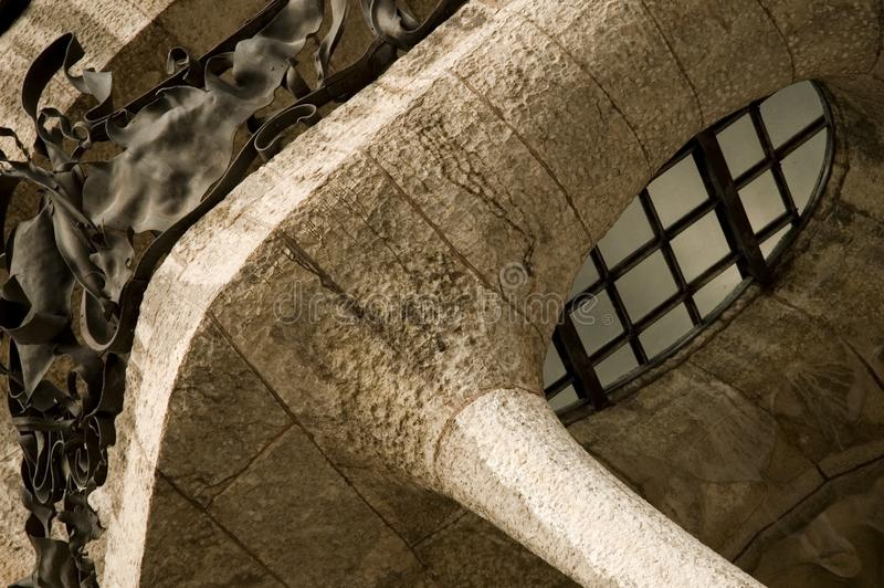 Download La padrera (antonio gaudi) stock image. Image of individuality - 4842099