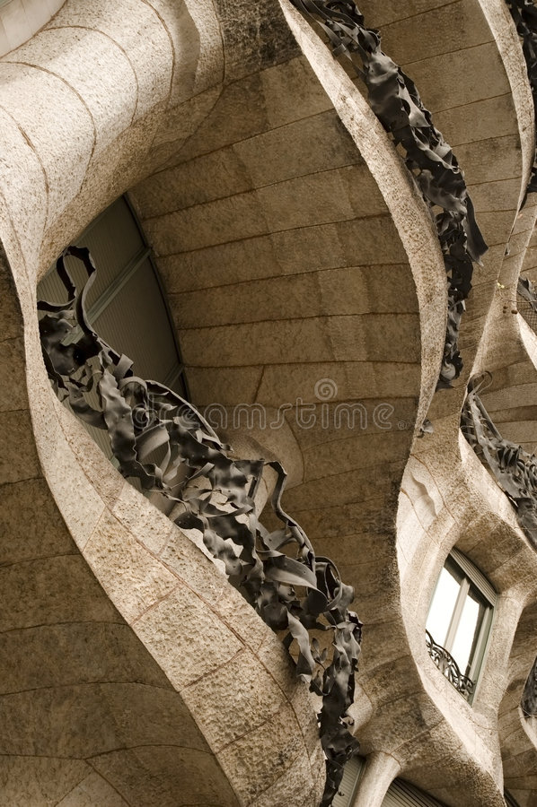 Free La Padrera (antonio Gaudi) Stock Photos - 4842203