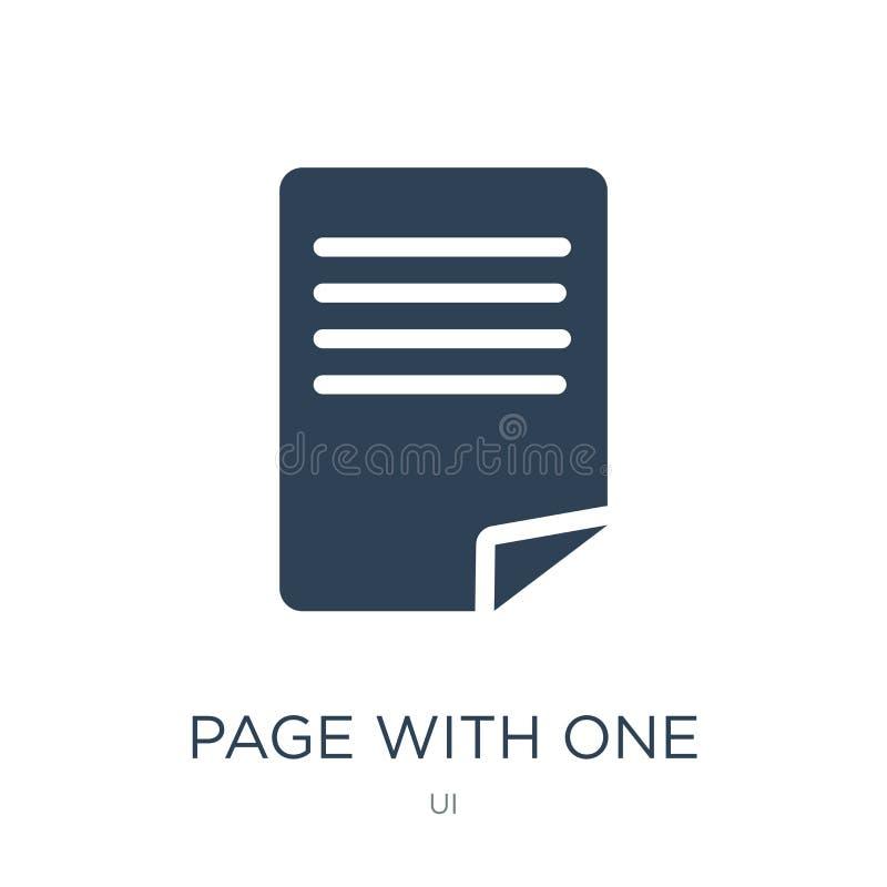 la page avec une a courbé l'icône faisante le coin dans le style à la mode de conception la page avec une a courbé l'icône faisan illustration libre de droits