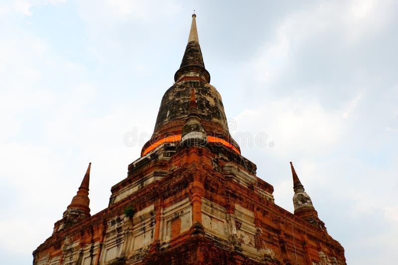La pagoda è grande e molto alta immagini stock libere da diritti