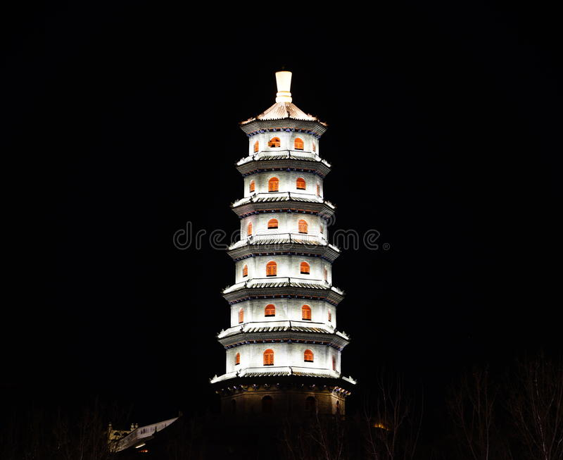 La pagoda fotografie stock libere da diritti