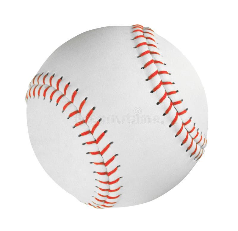 La palla di baseball professionale ha isolato fotografia stock libera da diritti