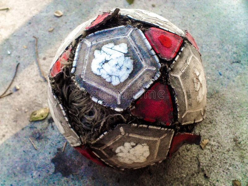 La palla porta le nostre sensibilità fotografia stock libera da diritti