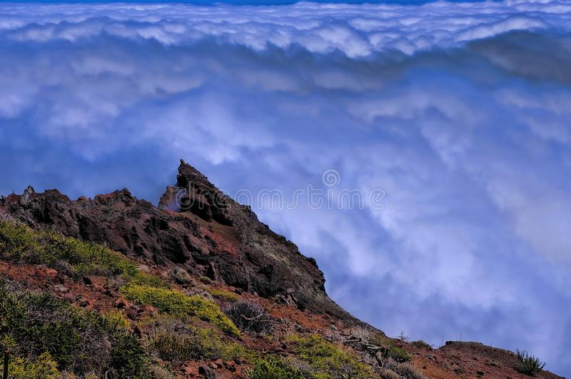 La Palma, Caldera Taburiente stock images