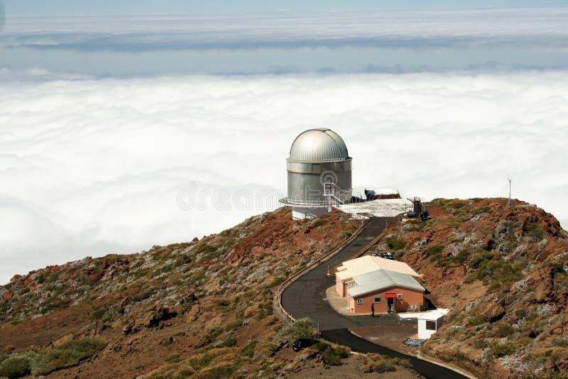 La Palma Observatory Roque de los Muchachos stock photo
