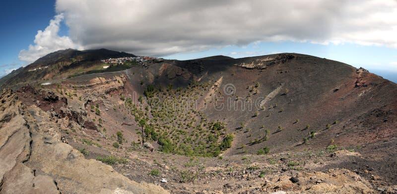 La Palma volcano San Antonio royalty free stock images