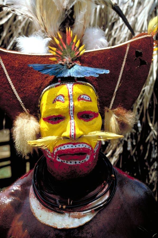 La Papouasie-Nouvelle Guinée photo libre de droits