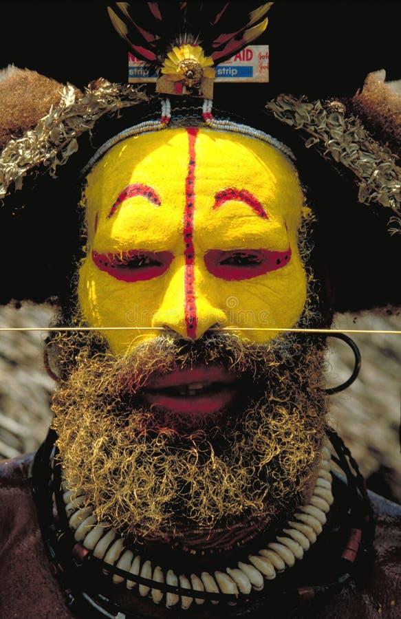 La Papuasia Nuova Guinea immagine stock libera da diritti