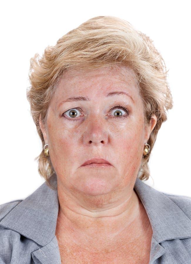 La paralysie de Bell - visage bancal photo libre de droits