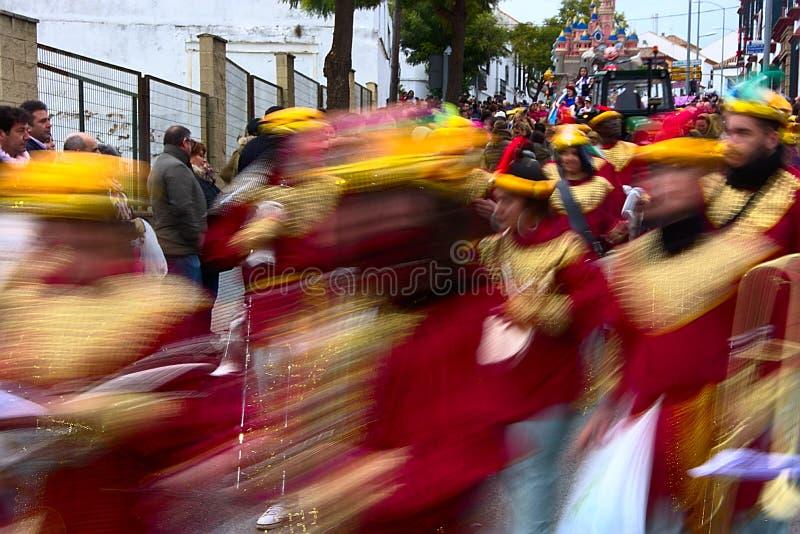 La parata dei saggi a Carmona 11 fotografie stock libere da diritti