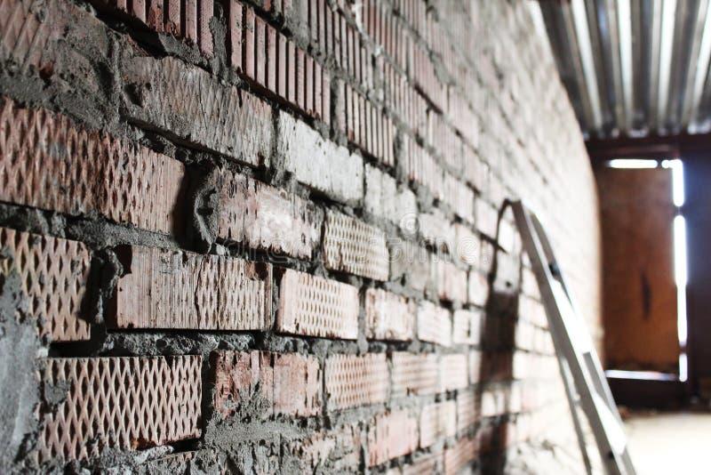 La pared de ladrillo fotos de archivo libres de regalías