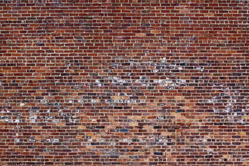 La pared de ladrillo roja vieja imágenes de archivo libres de regalías