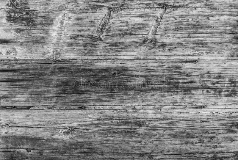 La pared de madera sucia vieja natural, gris blanqueó efecto foto de archivo