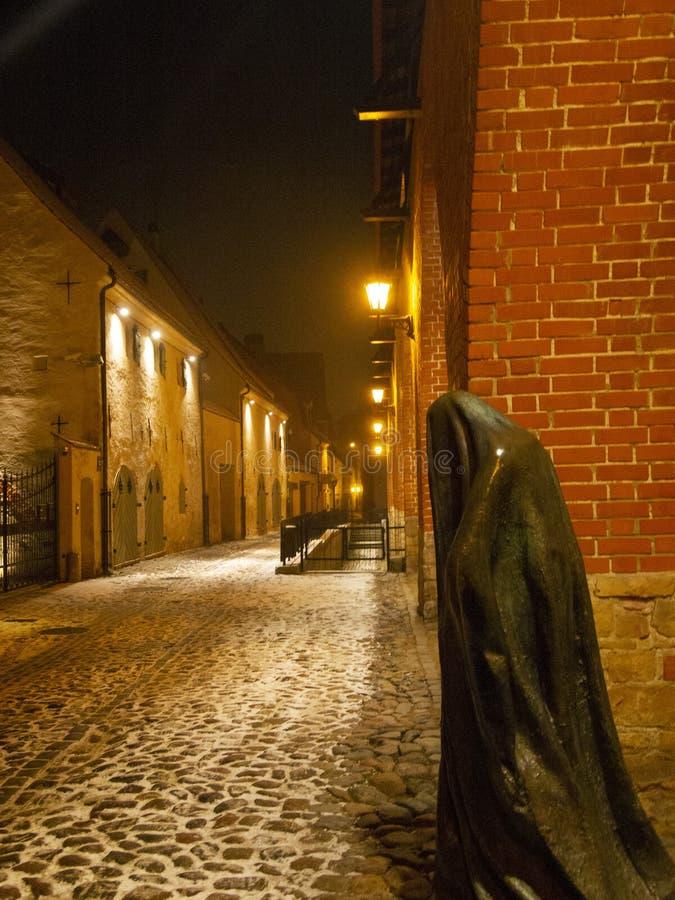 La pared de Riga vieja fotografía de archivo