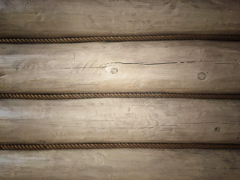 La pared de un marco de madera pintado de blanco foto de archivo libre de regalías