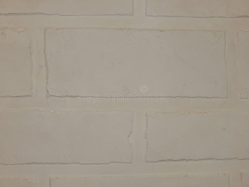 La pared del fondo de este yeso blanco del ladrillo fotografía de archivo libre de regalías