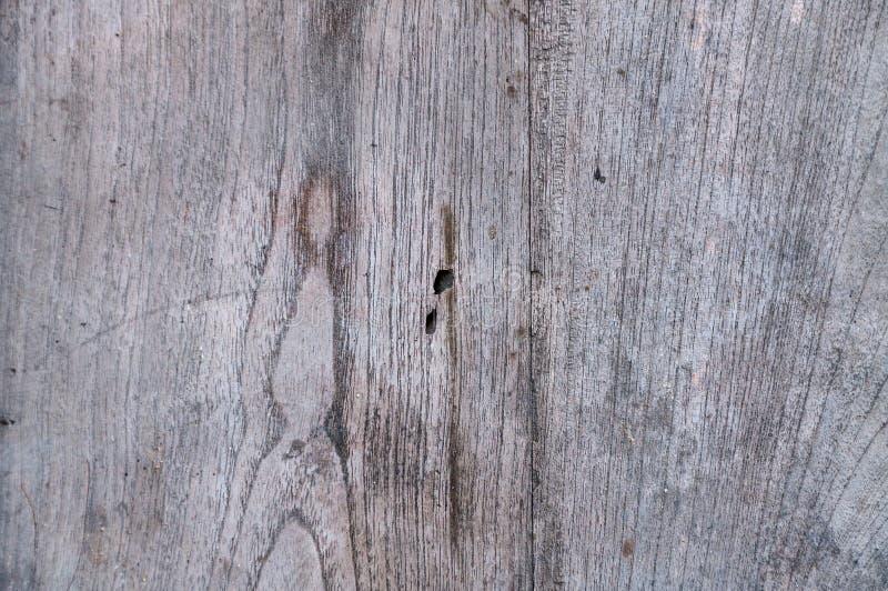 La pared del tablón de la madera dura de la teca, texturiza la madera vieja imagen de archivo libre de regalías