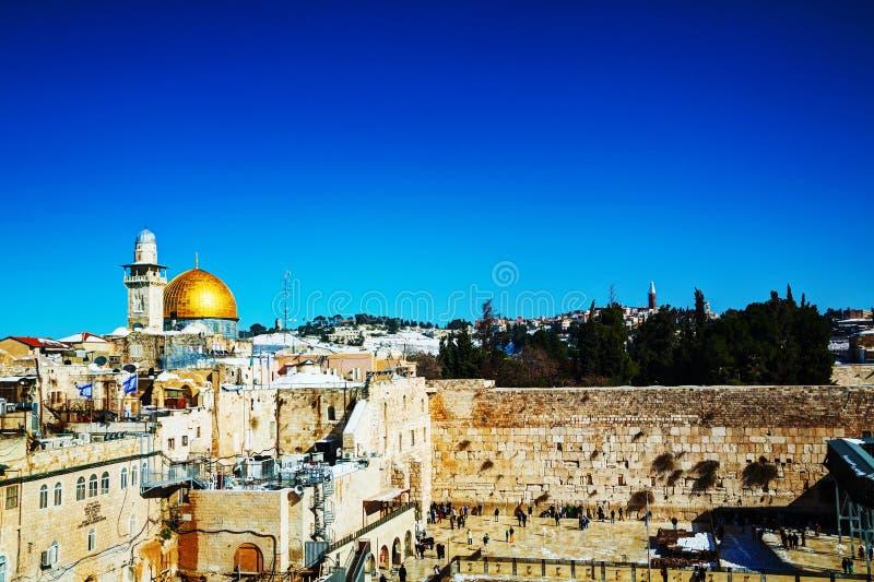 La pared occidental en Jerusalén, Israel fotos de archivo libres de regalías