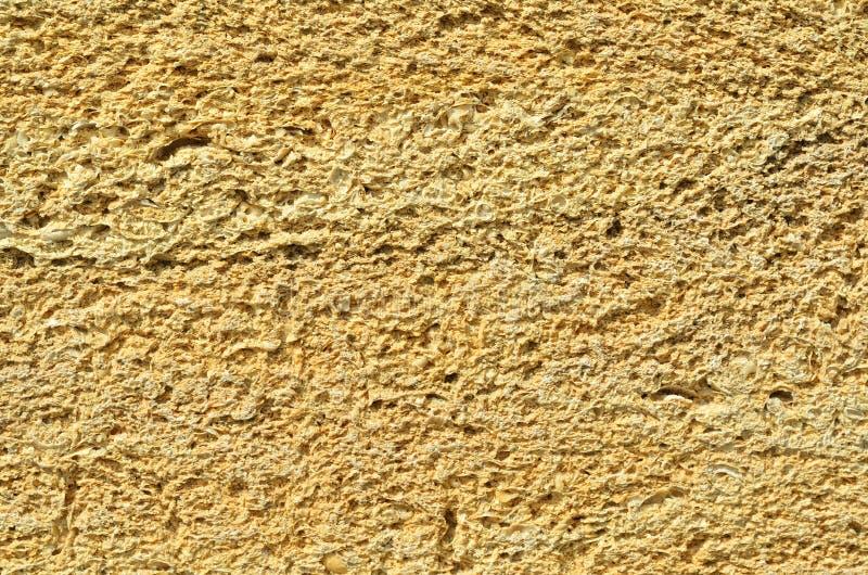 La parete è fatta del mattone della Crimea, il mattone dalle coperture, struttura fotografie stock libere da diritti