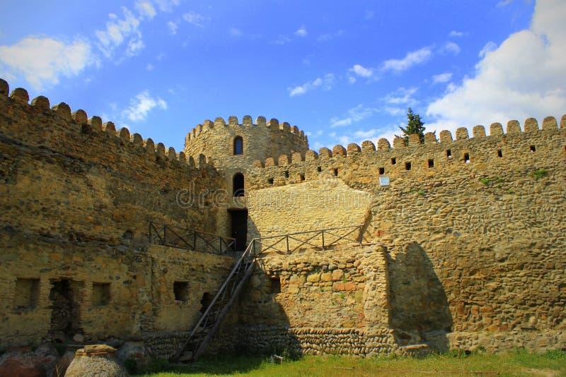 La parete della fortezza immagini stock