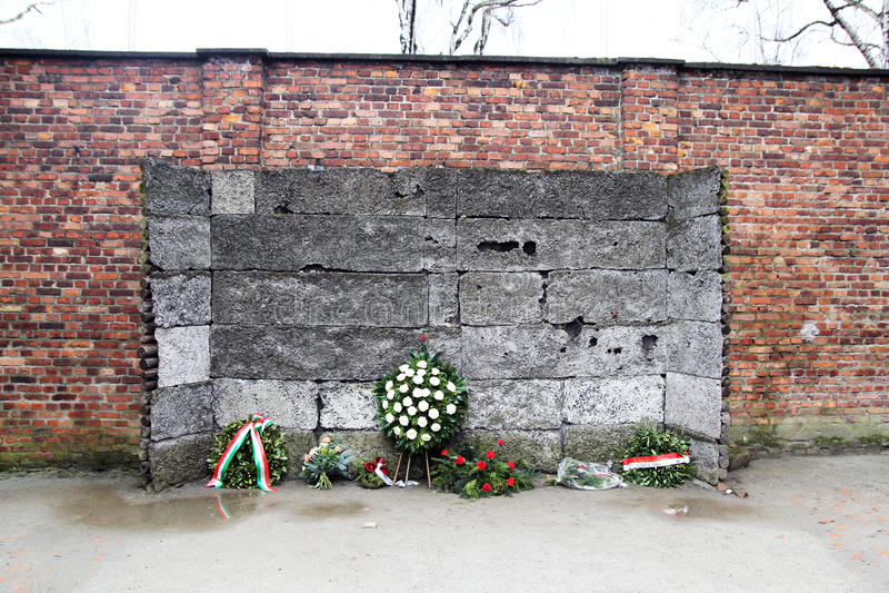 La parete della morte fotografia stock