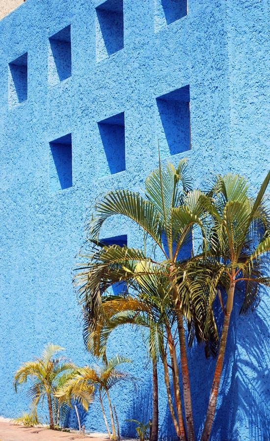La parete di Big Blue fotografie stock libere da diritti