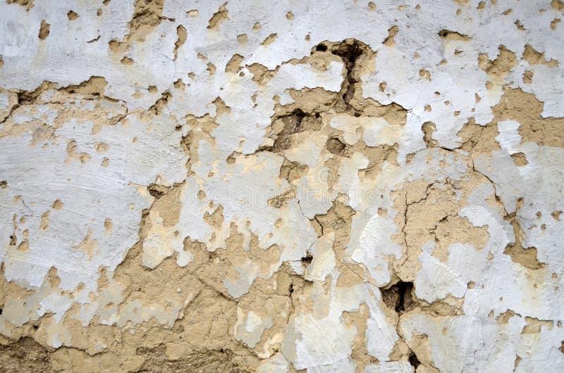 La parete di decomposizione fotografia stock