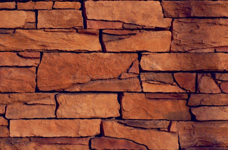 La parete di pietra fotografia stock