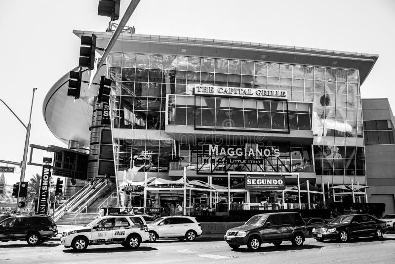 La parrilla capital, Las Vegas, Nevada foto de archivo