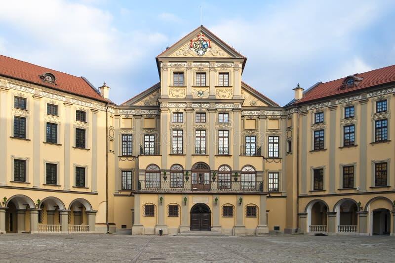 La parte central del palacio foto de archivo