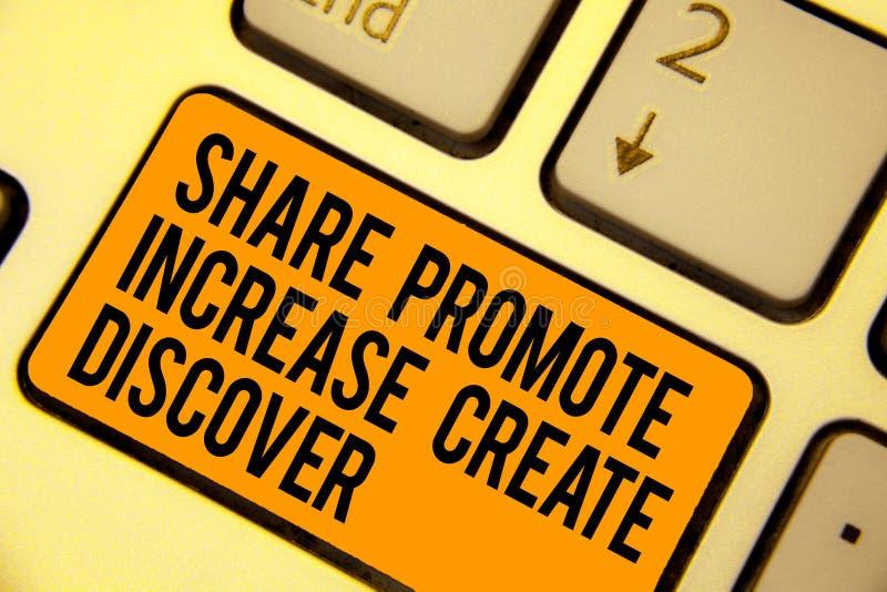 La parte de la escritura del texto de la escritura promueve aumento crea descubre Naranja del teclado de la motivación de la insp fotos de archivo libres de regalías