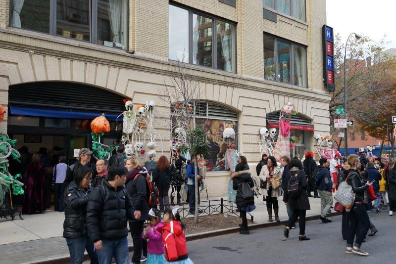 La parte 2 2015 di parata di Halloween del villaggio 1 immagini stock libere da diritti