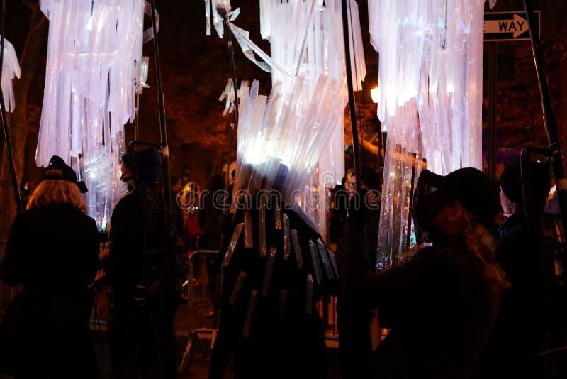 La parte 2 2015 di parata di Halloween del villaggio 47 immagine stock