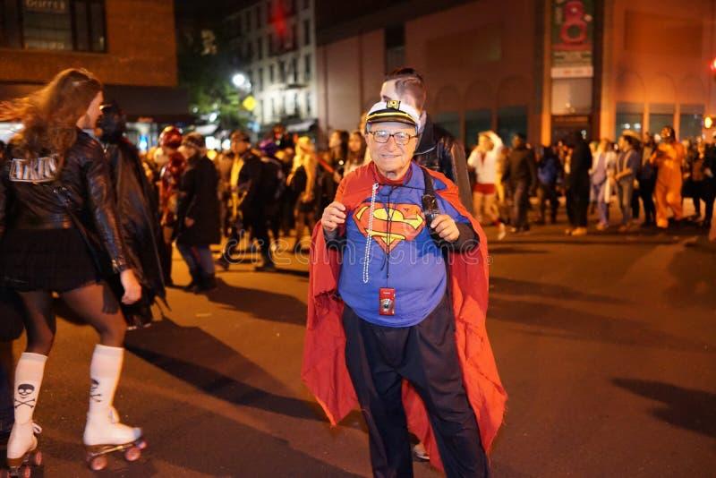 La parte 2015 di parata di Halloween del villaggio 4 86 fotografia stock libera da diritti