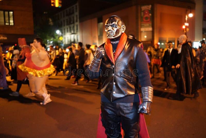 La parte 2015 di parata di Halloween del villaggio 5 15 fotografie stock libere da diritti