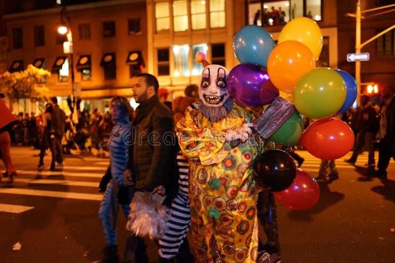 La parte 2015 di parata di Halloween del villaggio 5 18 immagine stock libera da diritti