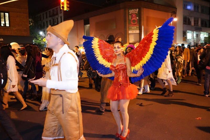 La parte 2015 di parata di Halloween del villaggio 5 29 immagine stock libera da diritti