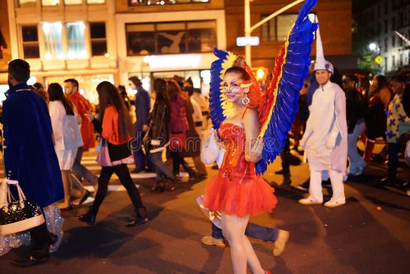 La parte 2015 di parata di Halloween del villaggio 5 31 immagini stock libere da diritti