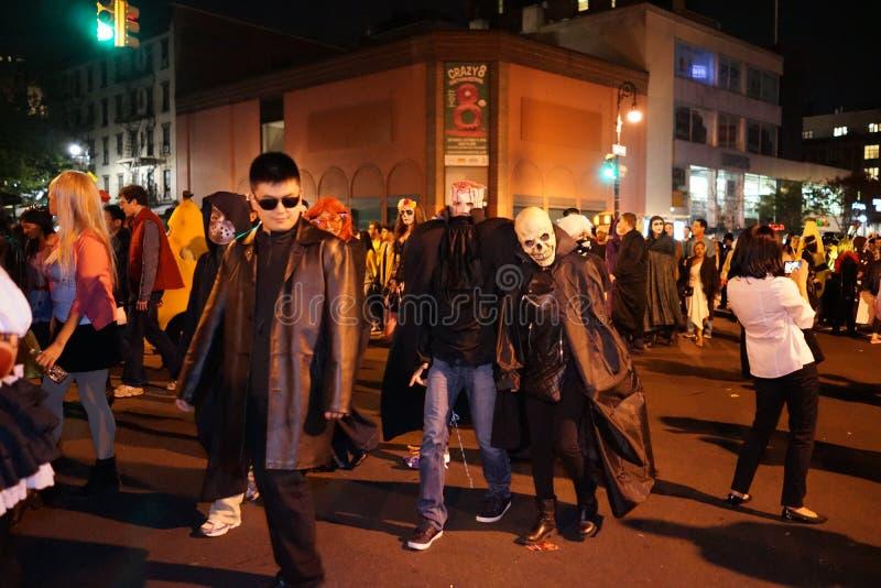 La parte 2015 di parata di Halloween del villaggio 5 39 immagini stock libere da diritti
