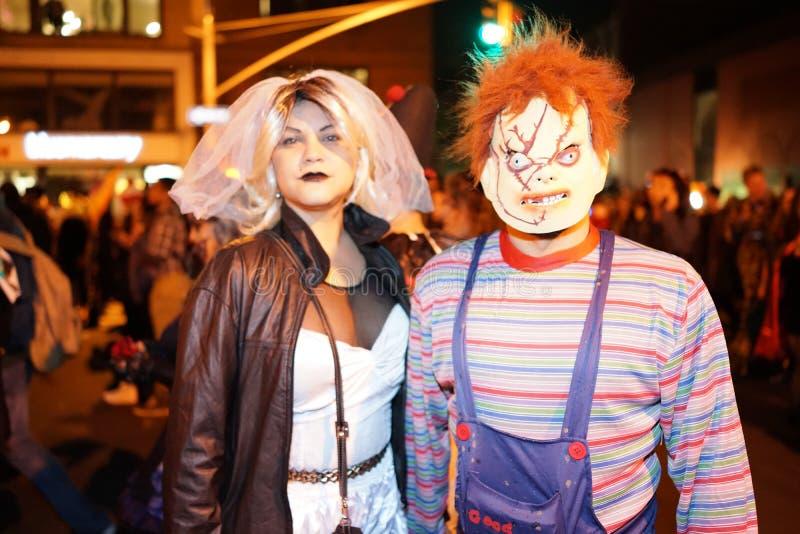 La parte 2015 di parata di Halloween del villaggio 5 47 fotografie stock